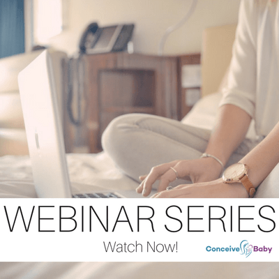 Conceive Baby Webinar Series
